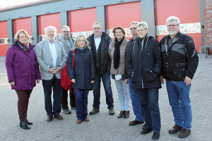 Einige Mitglieder der SPD-Kreistagsfraktion besuchten im Anschluss an die Klausurtagung noch das neue Rettungszentrum Nord in Achim und erhielten eine fachkundige Führung durch die Räumlichkeiten.
