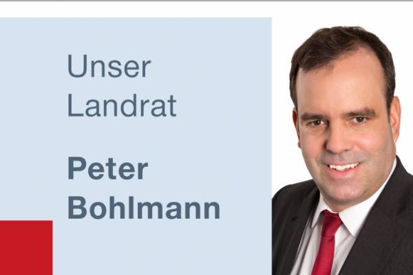 Unser Landrat Peter Bohlmann