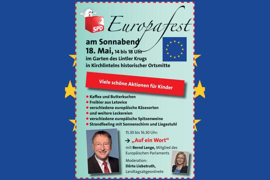 Einladung zum Europafest