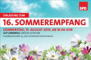 Einladung zum Sommerempfang