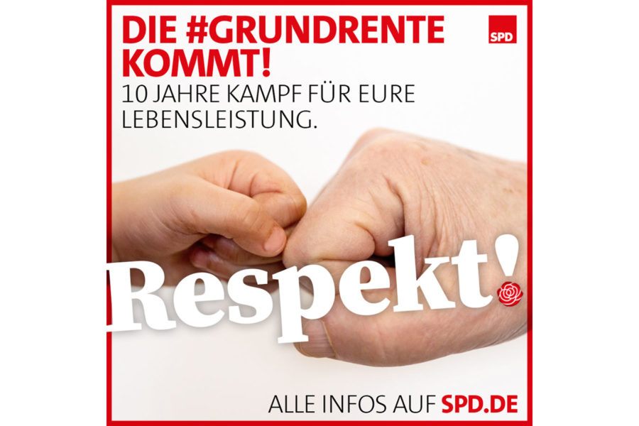 Sharepic zur Grundrente