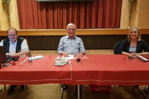 Benedikt Pape, Bernd Michallik und Dörte Liebetruth