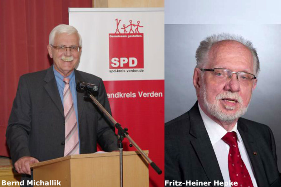 Bernd Michallik und Fritz-Heiner Hepke