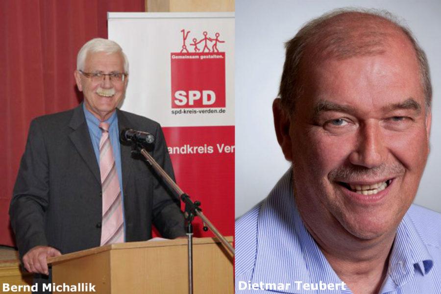 Bernd Michallik und Dietmar Teubert
