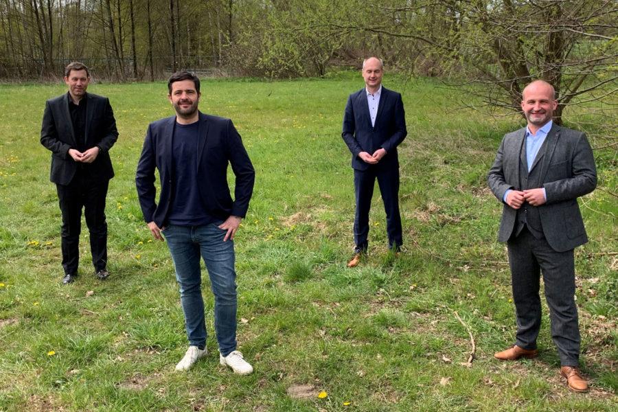 Die vier Bundestagskandidaten aus Nord-Niedersachsen