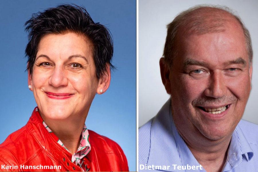 Karin Hanschmann und Dietmar Teubert