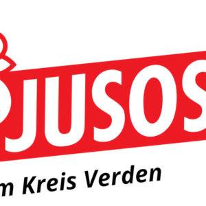 Logo der Jusos im Kreis Verden
