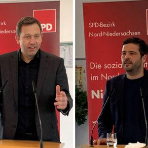 Lars Klingbeil und Daniel Schneider