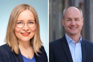 Dr. Dörte Liebetruth und Michael Harjes