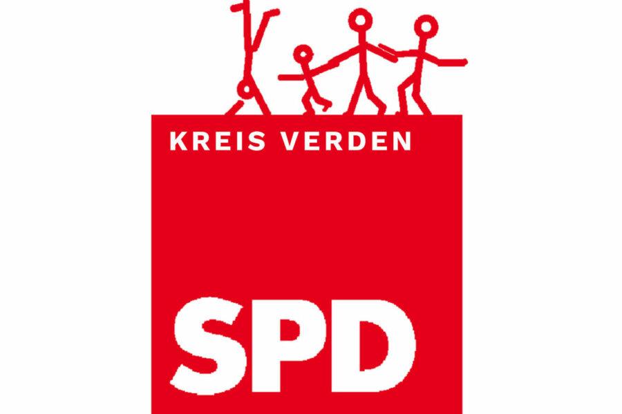 Logo der SPD Kreis Verden